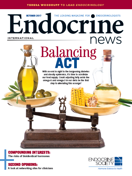 """BALANCING ACT"" ENDOCRINE NEWS"