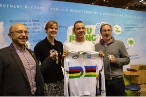 Rencontre avec François Pervis, double champion du monde de cyclisme sur piste 2015