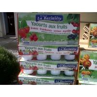 Ferme de la Bazinière - Yaourts aux Fruits