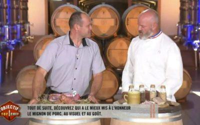 Les éleveurs Bleu-Blanc-Coeur dans l'émission « Objectif Top Chef »
