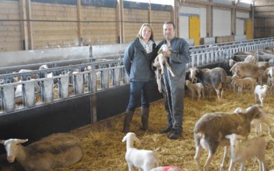 À la ferme de la Sarrette, les produits laitiers (glaces, fromages, yaourts) sont Bleu-Blanc-Coeur !