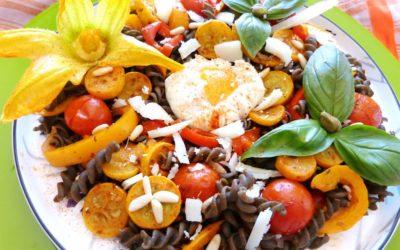 Œuf mollet aux légumes du soleil, la recette d'Estelle Marty