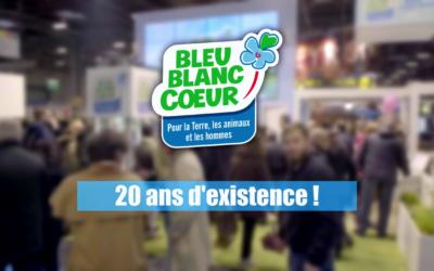 L'Association Bleu-Blanc-Coeur fête ses 20 ans 🎂 !